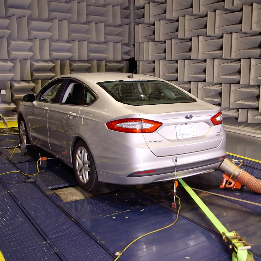 Anechoic Chamber Sound Transmission Loss Testing