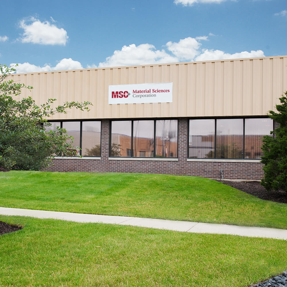 Material Sciences Corporation Elk Grove Village Location
