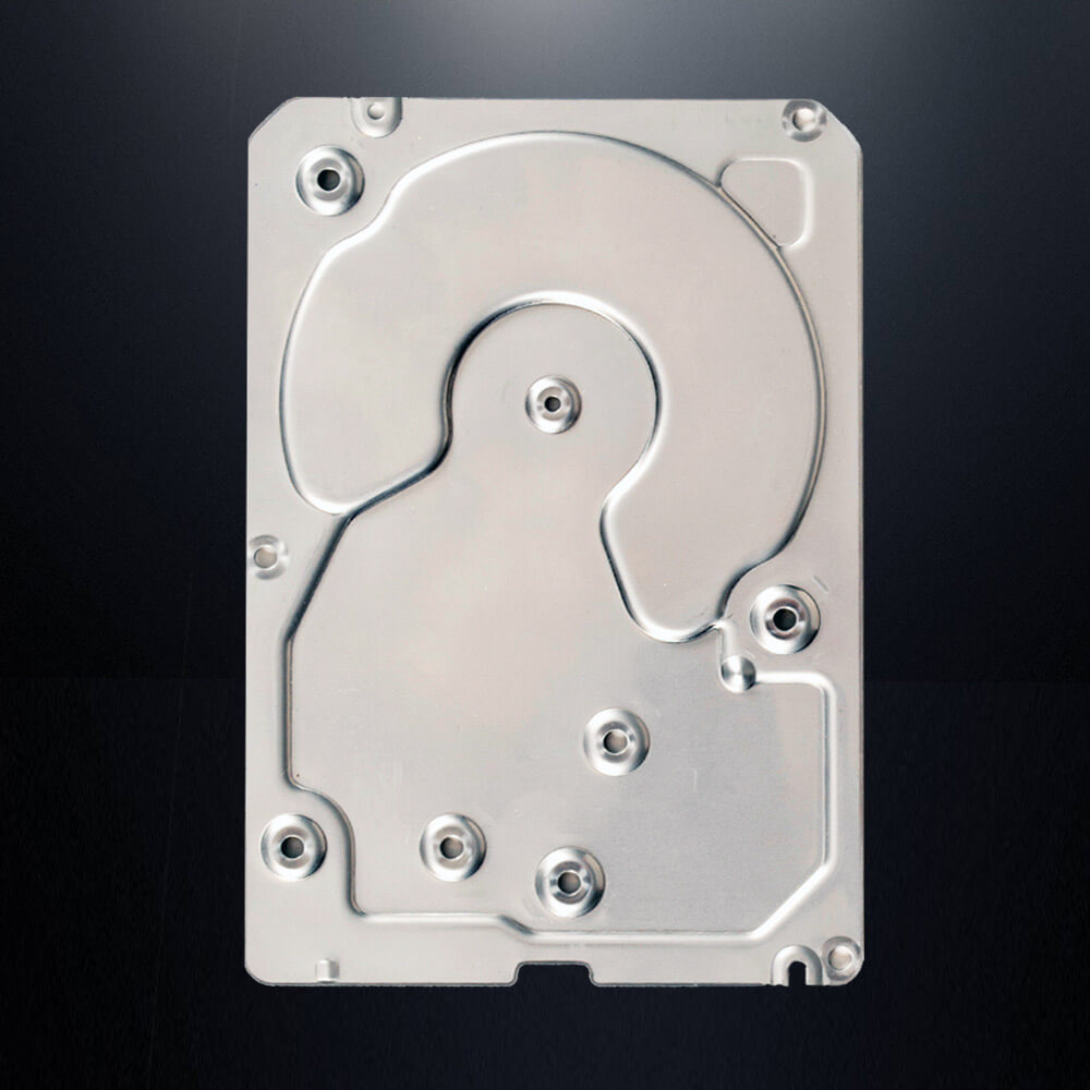 Quiet Aluminum® Lightweight NVH Dampening Alternative Disk Drive Cover