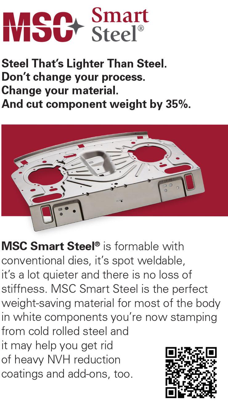 MSC Smart Steel® Product Card