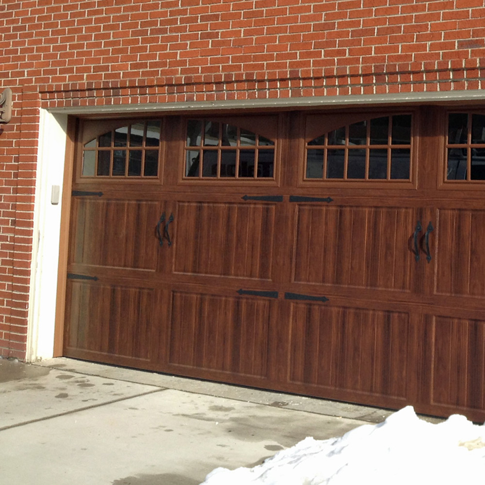 Coil Coating Doors - Coated Painted Laminated Materials For Residential Garage Door