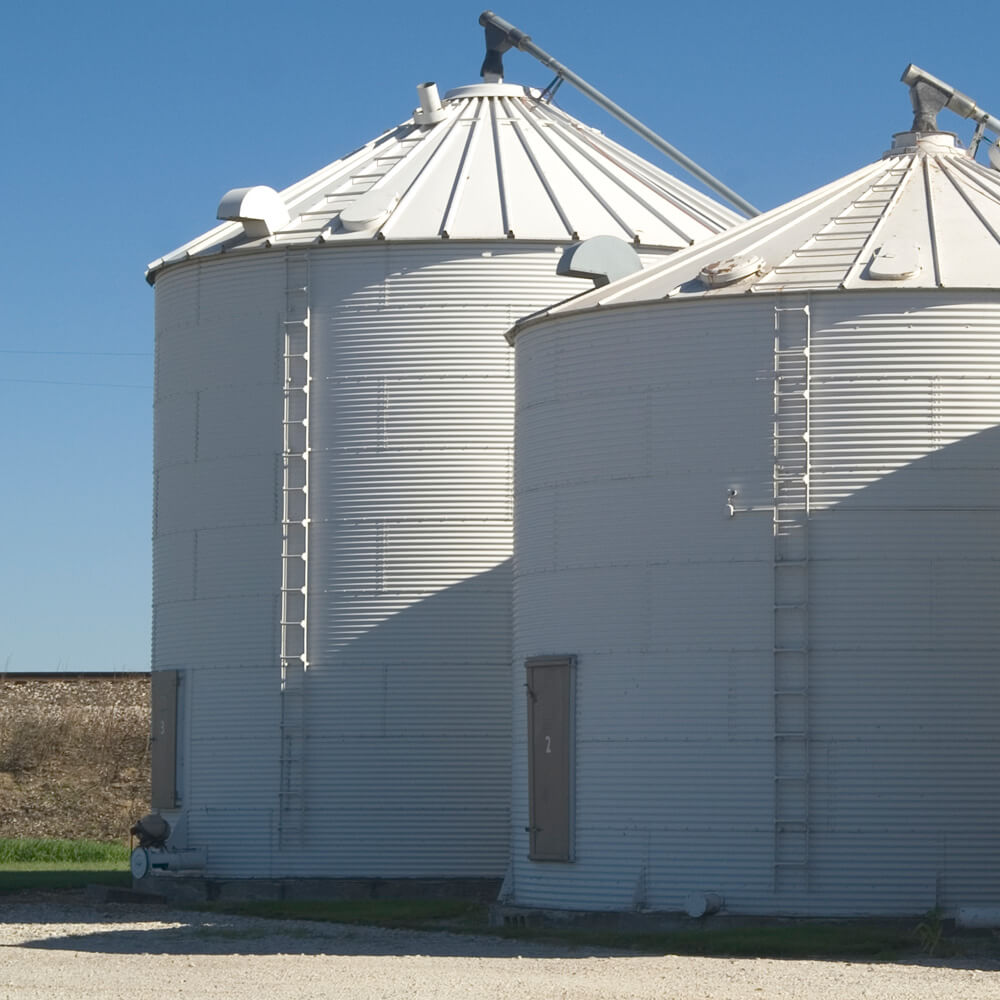 Construction Industry Specialty Coatings And Metal Laminates Metal Agricultural Farm Silos