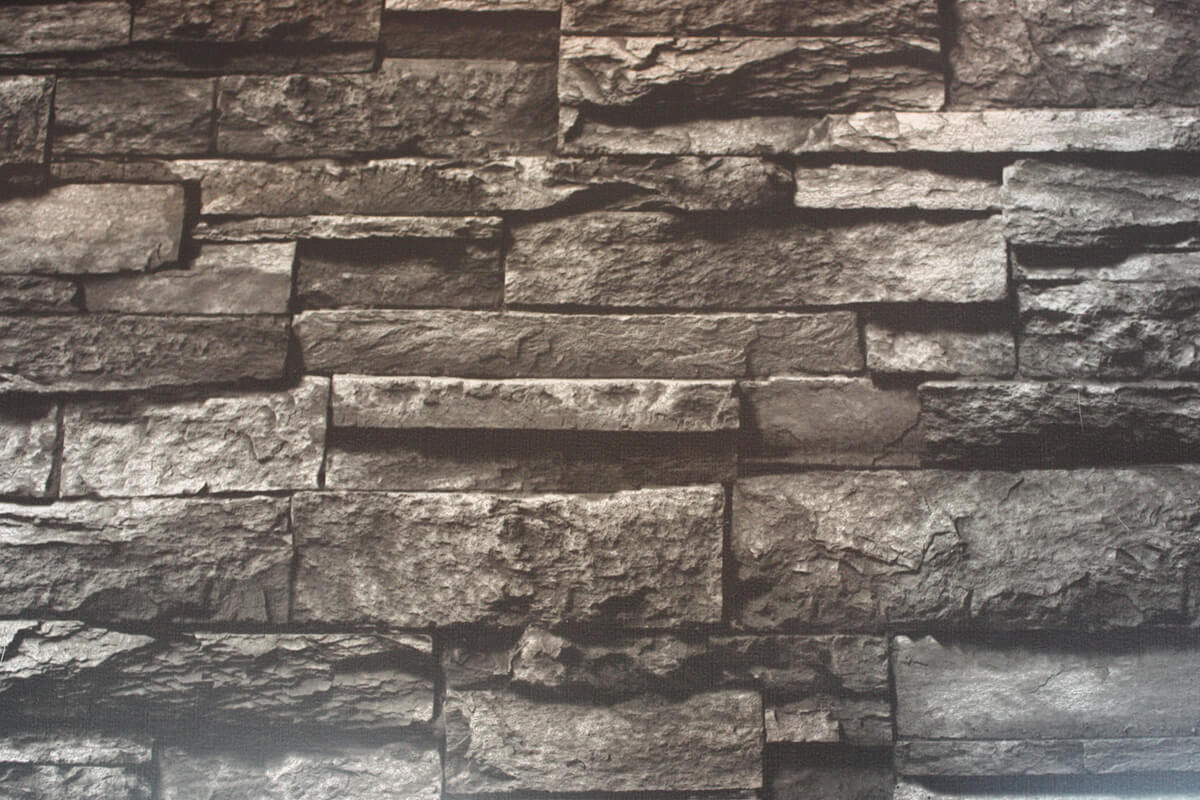 RepliKote Printed Pre-Finished Sheet Metal Faux Stone Fieldstone Surfaces