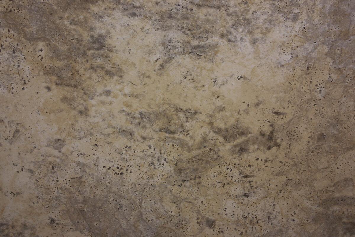 RepliKote Printed Pre-Finished Sheet Metal Faux Stone Travertine
